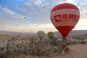 cappadocia view turkey