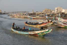 traditional boat senegal