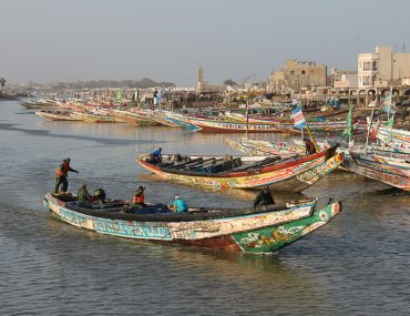 traditional boat senegal
