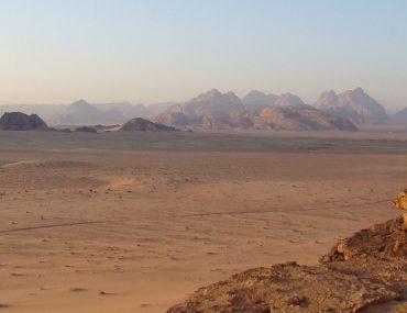 Wadi Rum desert view, Jordan