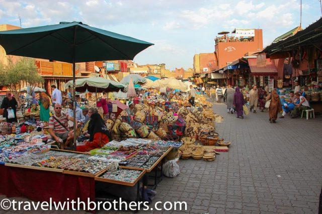 Marrakech, the old Souk