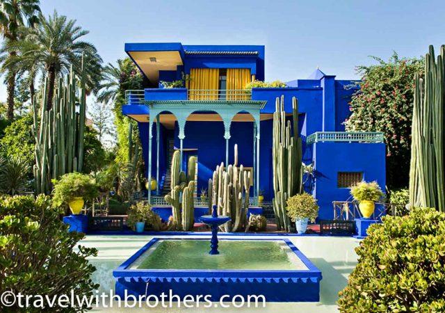 Marrakech, Majorelle garden