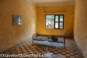a room in the building A, Tuol Sleng Genocide Museum