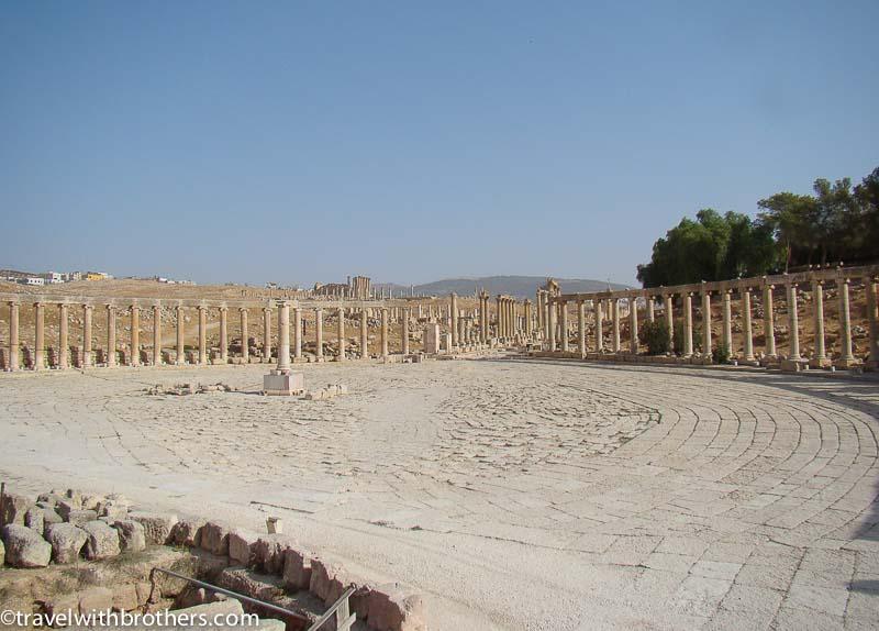 ancient roman site jerash
