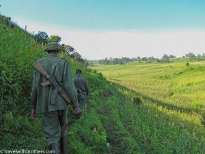 Rangers at Virunga Park, Congo