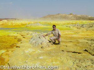 Dallol spring - Danakil depression , Ethiopia