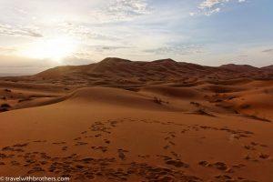 erg chebbi sahara desert