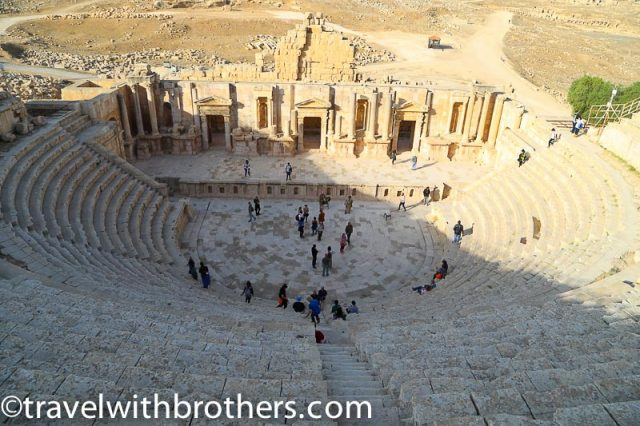 Roman Theater in Jerash, Jordan