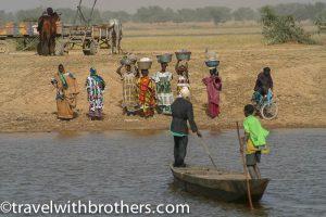 Djenne - Bani river