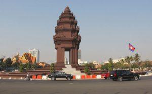 Indipendence monument, Phnom Penh