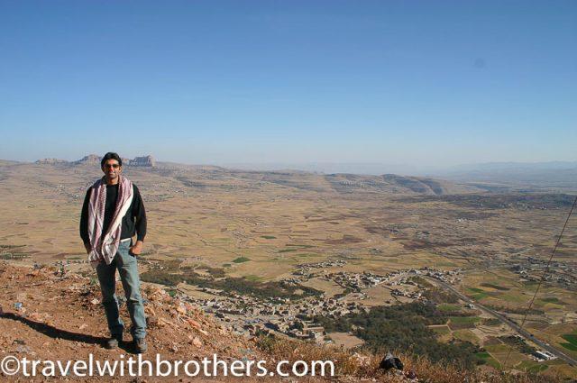 View from Jabal Kawkabam