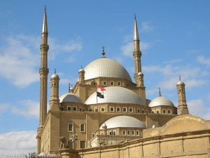 Mohammad Ali Mosque in Al Cairo, Egypt