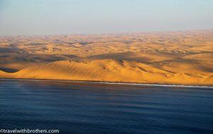 namibian desert ocean