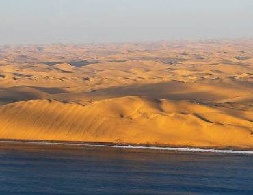 Namibia, scenic flight over Namib desert