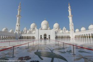 Sheikh Zayed Mosque view