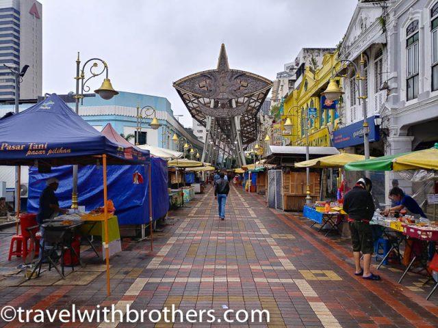 Kuala Lumpur, Kasturi Walk Street,