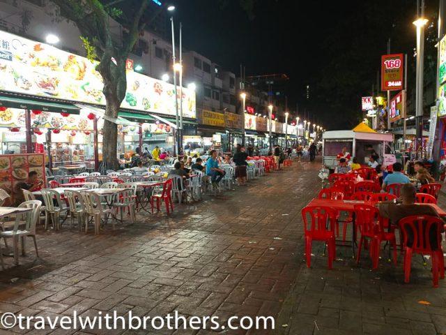 Kuala Lumpur, Jalan Alor street