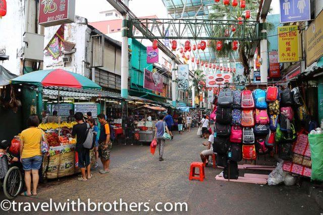 Kuala Lumpur, Petaling street in Chinatown