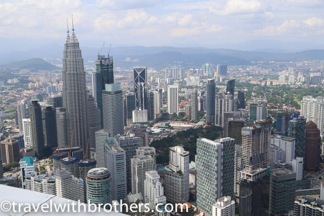 Kuala Lumpur, view from KL Tower