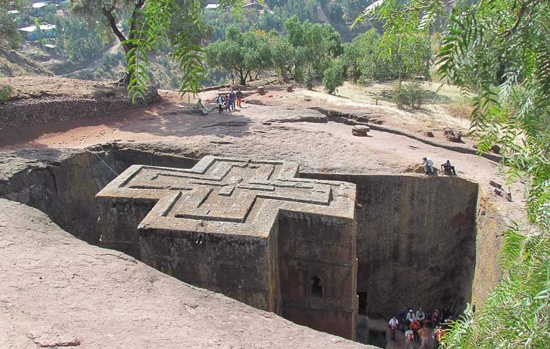 Lalibela, Church of St George