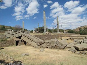 Axum monoliths, Ethiopia