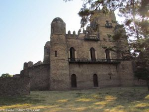 Castle in Gondar, Ethiopia
