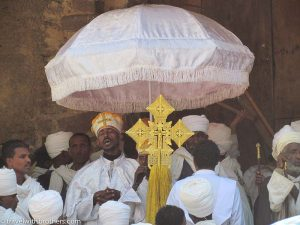 ceremony in gondar ethiopia