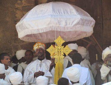 ceremony in gondar ethiopia