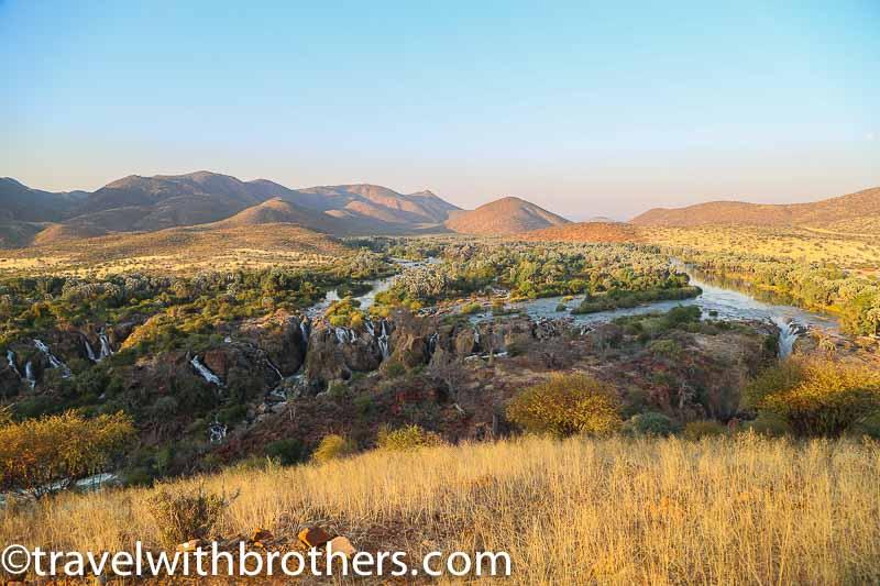 epupa waterfalls namibia