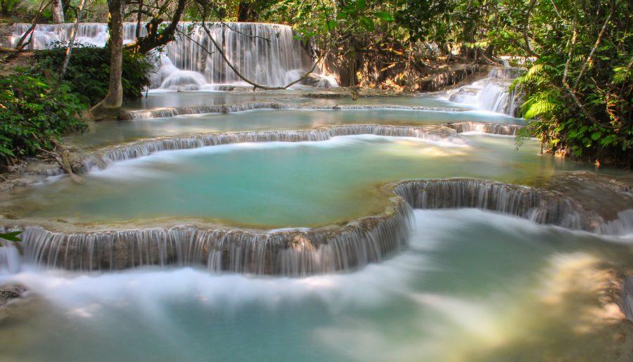Laos, Kuang Si Waterfalls travel guide