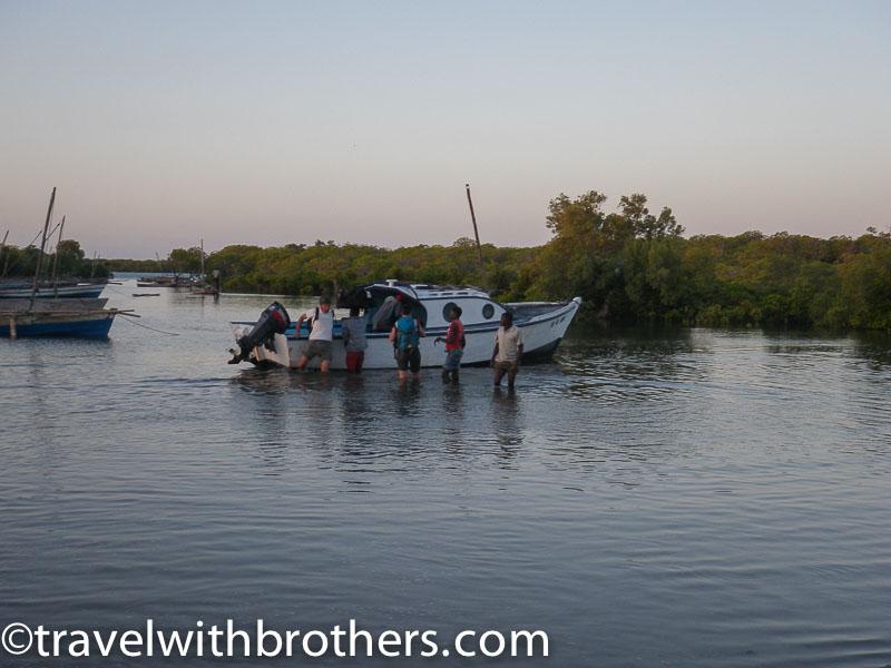 tanganhague jetty mozambique