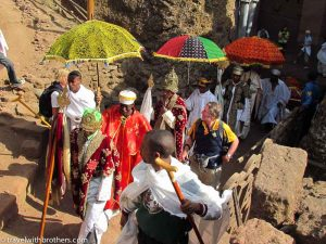 Timkat ceremony, Lalibela