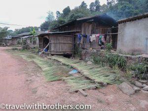 Yao village, Laos
