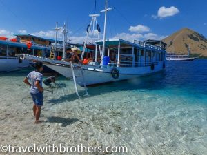 Indonesia, Komodo National Park - my boat