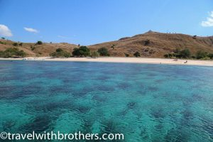 Komodo National Park, the wonderful sea of the Pink beach