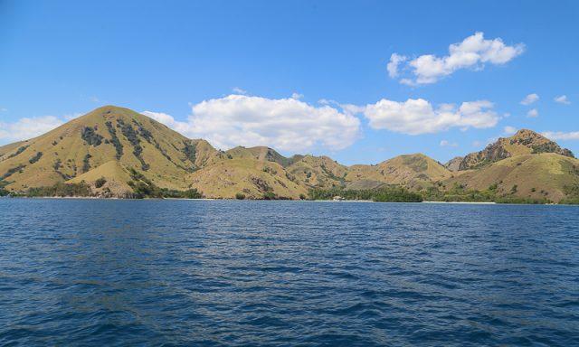 The beautiful coast close to Labuan Bajo, Komodo National park