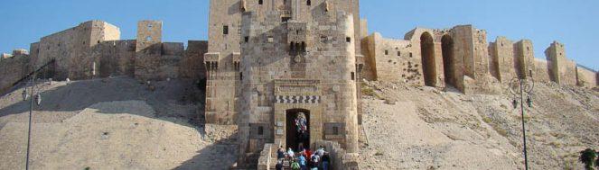 citadel of aleppo al qal a