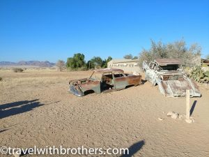 Namibia, Solitaire car wrecks