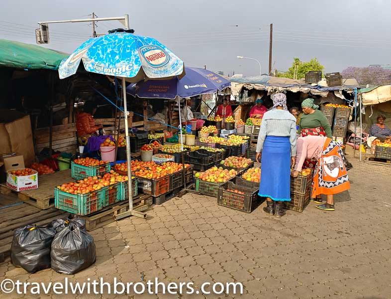 Manzini market, Swaziland