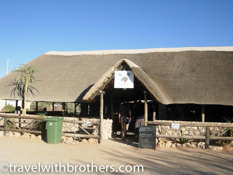 Namibia, la pasticceria Moose McGregor di solitaire