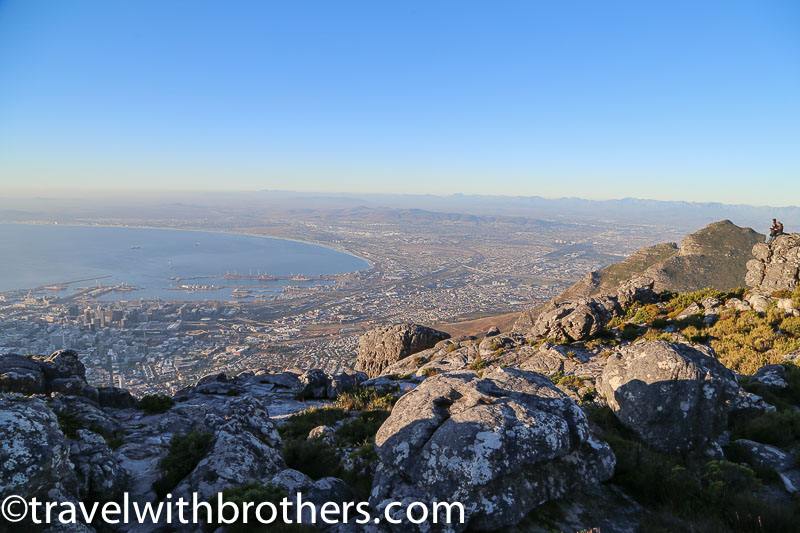 Cape Town, view from the Table Mountain