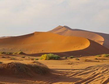 Namibia, the high dunes of Sossusvlei