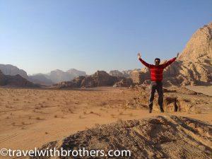 Jordan, the Wadi Rum