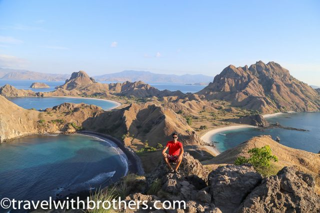 Komodo National Park, the amazing view at Padar Island