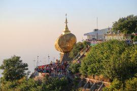 Myanmar, the Golden Rock