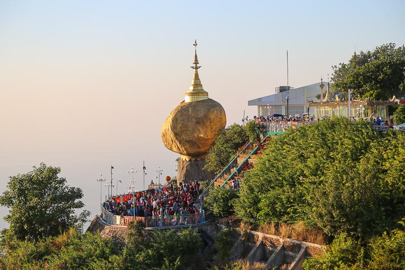 Myanmar, the Golden Rock