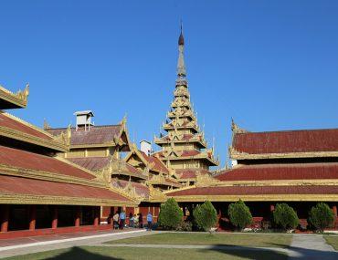 Mandalay, buildings of the Royal Palace