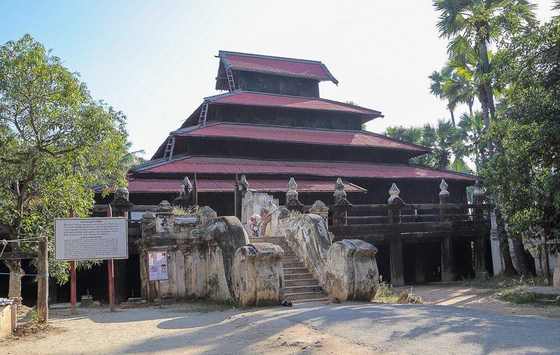 Inwa, Bagaya Kyaung monastery