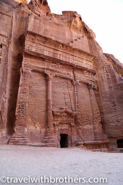 Petra, street of facades
