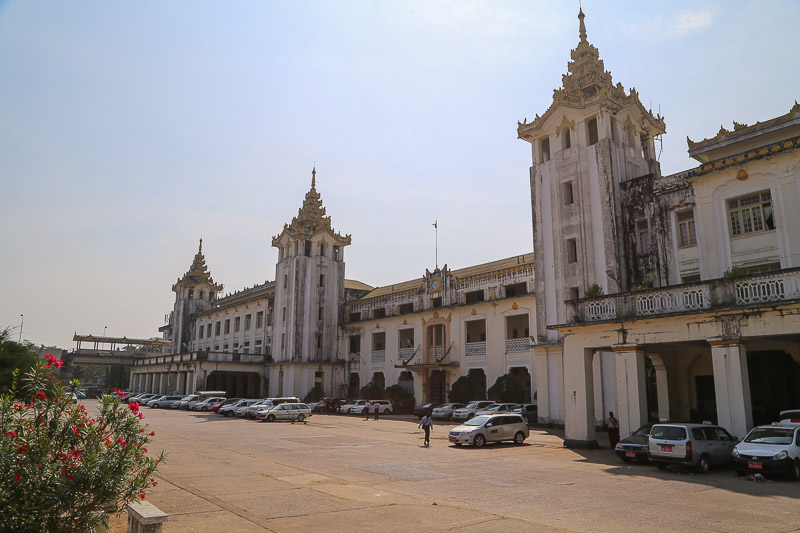 Yangon Central Railways station